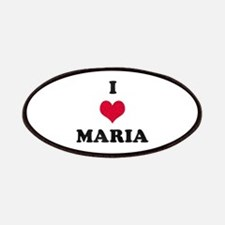 I Love Maria Patch