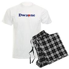 Dwayne with Heart Pajamas