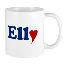 Elly with Heart Mug