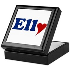 Elly with Heart Keepsake Box