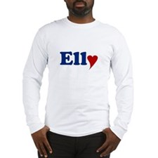 Elly with Heart Long Sleeve T-Shirt
