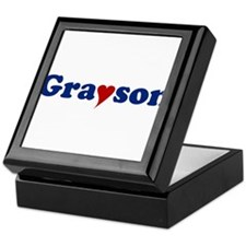 Grayson with Heart Keepsake Box