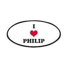 I Love Philip Patch