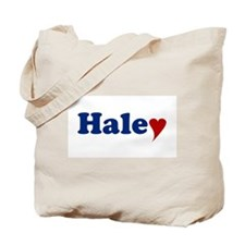 Haley with Heart Tote Bag