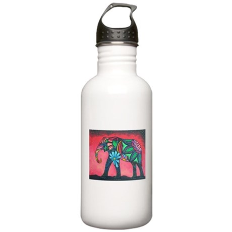 Psychedelic Elephant Stainless Water Bottle 1.0L
