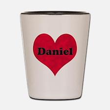 Daniel Leather Heart Shot Glass