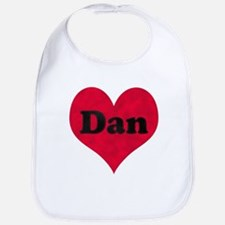 Dan Leather Heart Bib