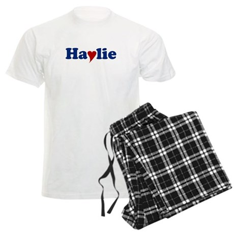 Haylie with Heart Men's Light Pajamas