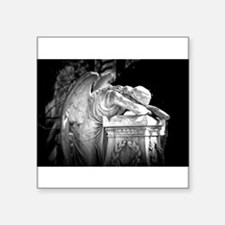 """Weeping Angel Square Sticker 3"""" x 3"""""""