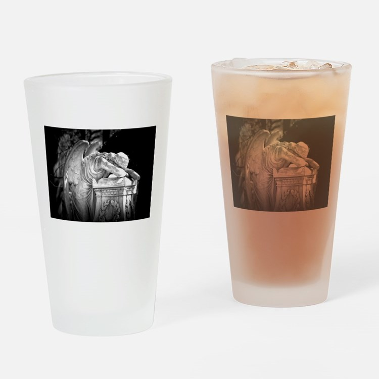 Weeping Angel Drinking Glass