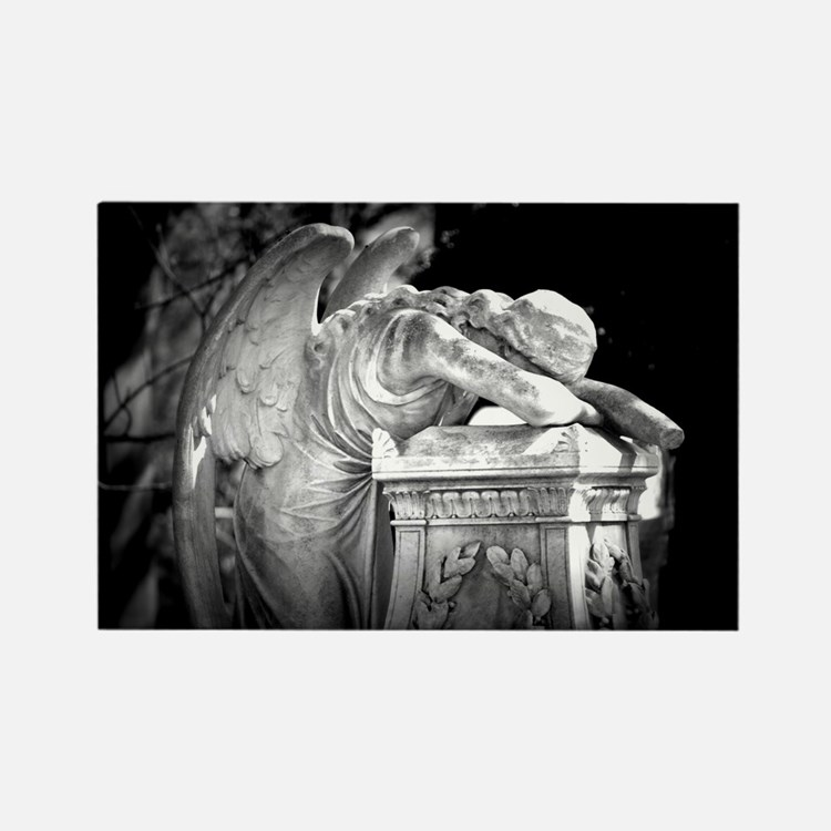 Weeping Angel Rectangle Magnet