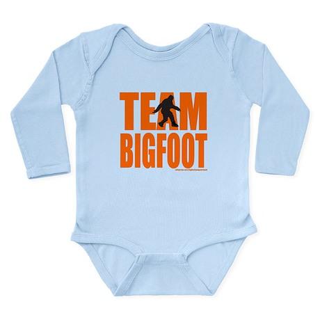 TEAM BIGFOOT Long Sleeve Infant Bodysuit