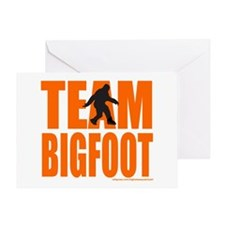 TEAM BIGFOOT Greeting Card