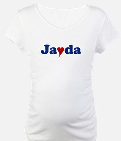 Jayda with Heart Shirt