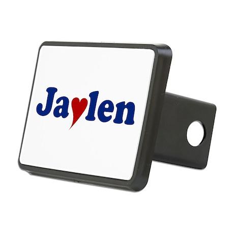 Jaylen with Heart Rectangular Hitch Cover