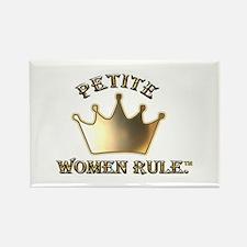 Cute Short girls rule world Rectangle Magnet (10 pack)