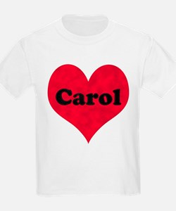 Carol Leather Heart T-Shirt