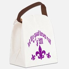 good times big.png Canvas Lunch Bag