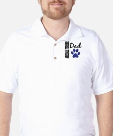 Airedale Terrier Dad 2 Golf Shirt