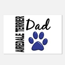 Airedale Terrier Dad 2 Postcards (Package of 8)