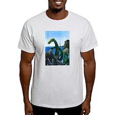 Ash Grey New England Sea Serpent T-Shirt