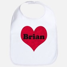 Brian Leather Heart Bib