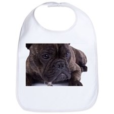 French bulldog - totally contented Bib