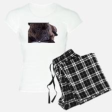 French bulldog - totally contented Pajamas
