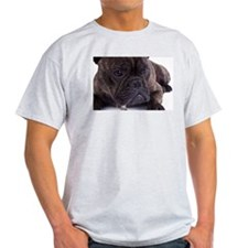 French bulldog - totally contented T-Shirt