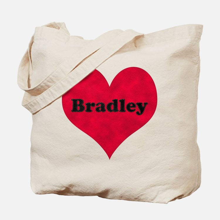 Bradley Leather Heart Tote Bag