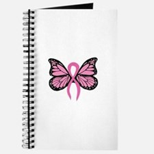 Breast Cancer Butterfly Journal