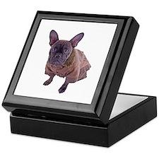 French Bulldog - Ready for take off Keepsake Box