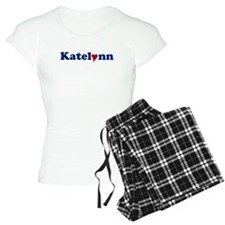 Katelynn with Heart Pajamas
