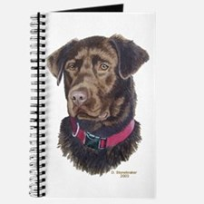 Java Chocolate Labrador Journal
