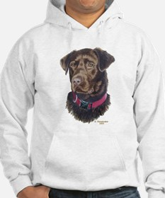 Java Chocolate Lab Hoodie