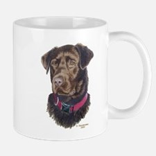 Java, Chocolate Labrador Mug
