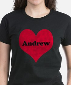 Andrew Leather Heart Tee