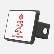 Keep Calm And Call The Winchesters Hitch Cover