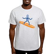 Surfing Robot T-Shirt