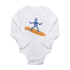Surfing Robot Baby Suit