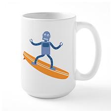 Surfing Robot Mug