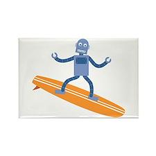 Surfing Robot Rectangle Magnet