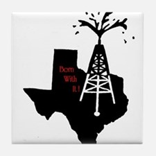 Born with it ! Tile Coaster