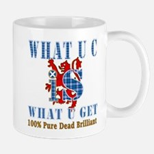 100% pure dead brilliant Mug