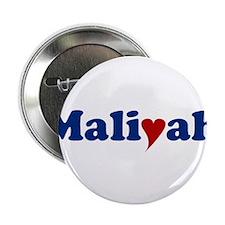 "Maliyah with Heart 2.25"" Button"
