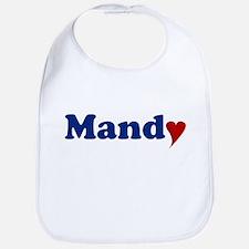 Mandy with Heart Bib