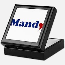 Mandy with Heart Keepsake Box
