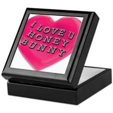 I LOVE YOU HONEY BUNNY Keepsake Box