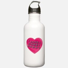 I LOVE YOU HONEY BUNNY Water Bottle