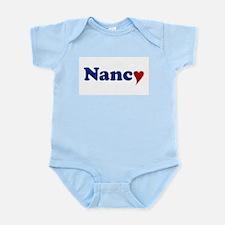 Nancy with Heart Infant Bodysuit